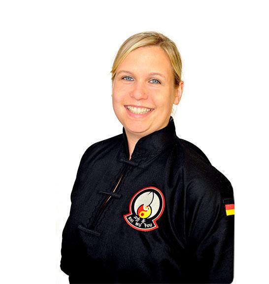 Chantal – Lehrerin für Kung Fu